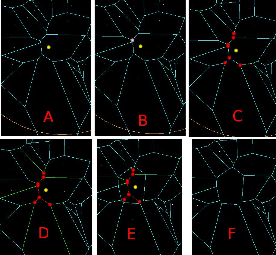 voronoi \u2013 anderswallin netRandom Linesegment Voronoi Diagram #16