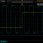 10 MHz and 1PPS outputs from the circuit.