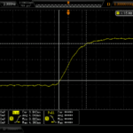 1PPS output has around 4 ns rise-time. Note only 700 mV amplitude into 50R.