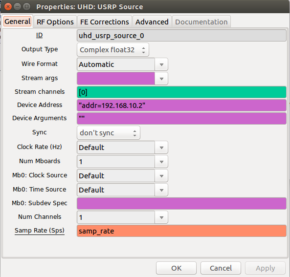 USRP N210 quickstart – anderswallin net