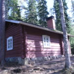 Cabin at Helvetinkolu