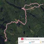Saturday route at Helvetinjärvi